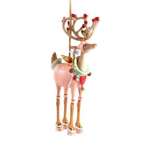 $48.00 Cupid Reindeer Ornament