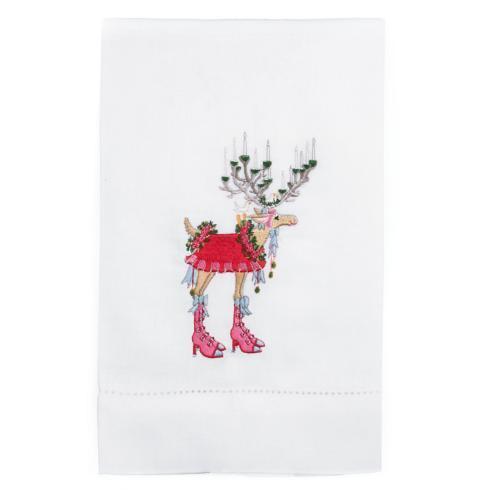 $16.00 Donna Reindeer Tea Towel