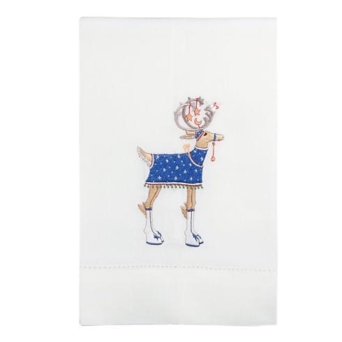 $16.00 Comet Reindeer Tea Towel