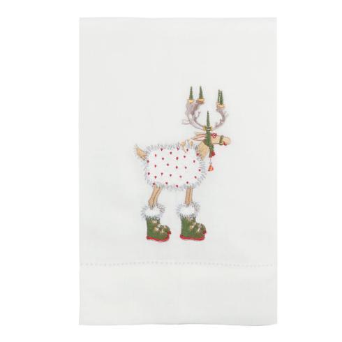 $16.00 Blitzen Reindeer Tea Towel