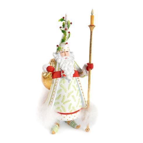 $128.00 Candlelight Santa Figure