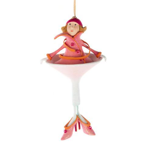 $60.00 Cosmopolitan Girl Ornament