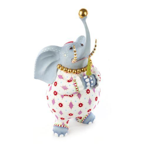 $286.00 Patience Brewster Jambo Eleanor Elephant Figure