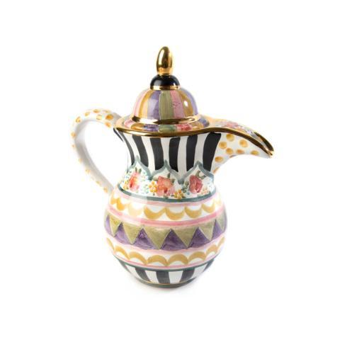 MacKenzie-Childs  Bazaar Coffee Pot $298.00