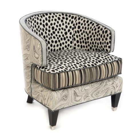 MacKenzie-Childs  Dotography Chair $3,595.00