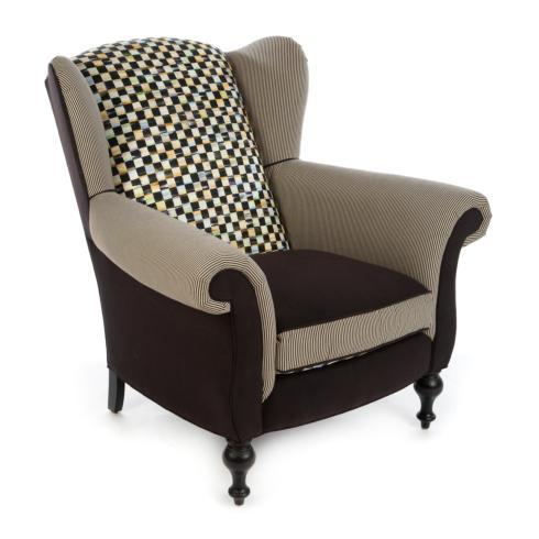 $3,995.00 Wing Chair - Black