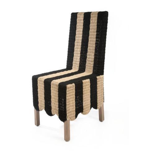 Grande Side Chair - Stripe image