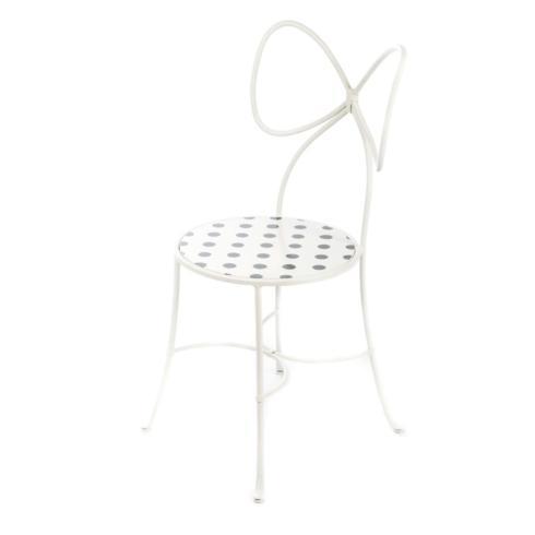 Bow Chair - White