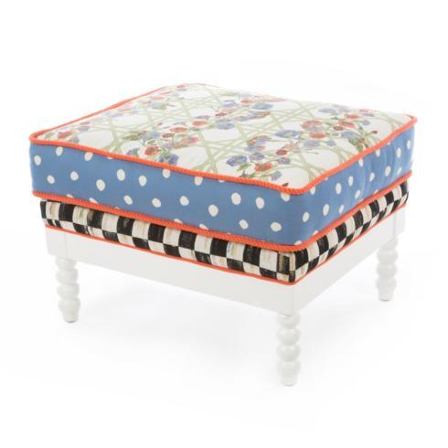 Spindle Outdoor Ottoman