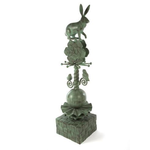 Rabbit Garden Totem