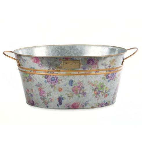 MacKenzie-Childs  Garden Flower Market Beverage Bucket $58.00