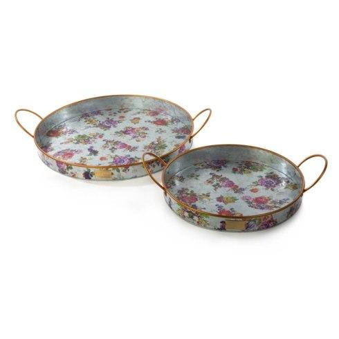 $98.00 Outdoor Trays - Set of 2