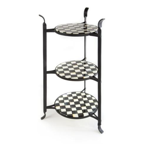 MacKenzie-Childs  Courtly Check Counter Stand $195.00