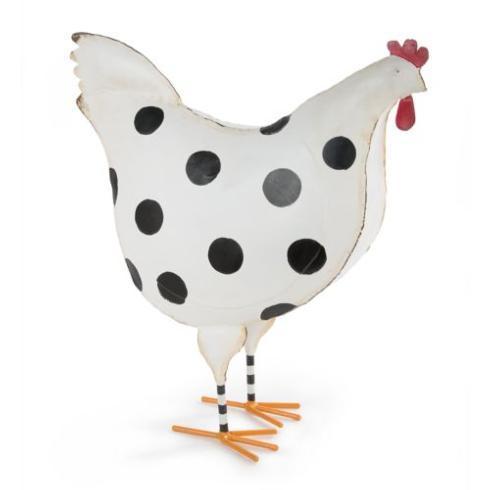 MacKenzie-Childs  Decor Dot Chicken - Large $100.00