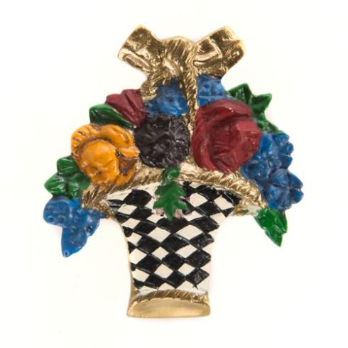 $38.00 Flower Basket Knob