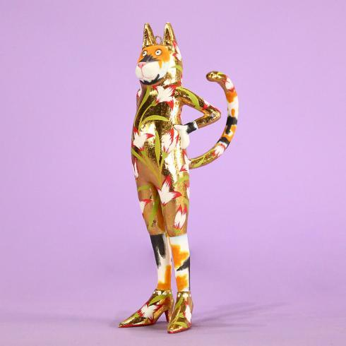 $50.00 Candy Calico Catsuit Ornament