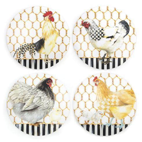 $78.00 Chicken Coop Placemats - Set of 4