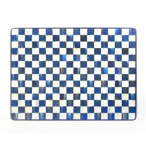 MacKenzie-Childs Royal Check Accessories Cork Back Placemats - Set of 4 $78.00
