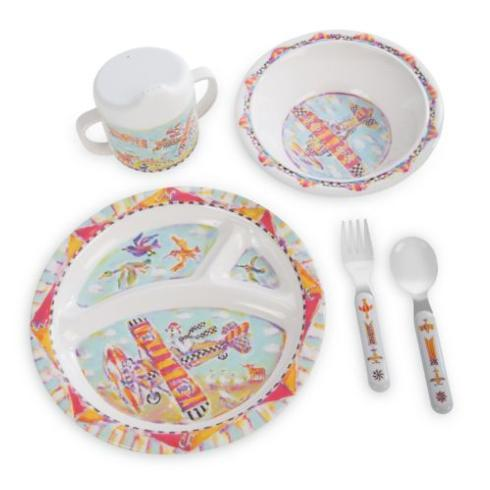 $48.00 Toddler\'s Dinnerware Set - Take Flight