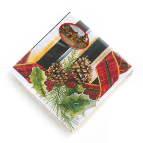 MacKenzie-Childs  Holiday Decor Highland Paper Napkins - Cocktail $6.95