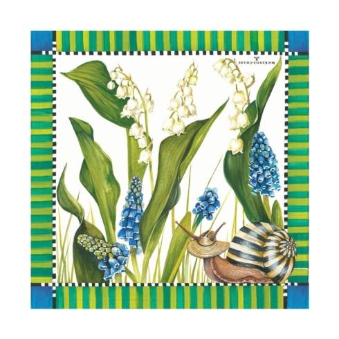 $6.95 Snail Paper Napkins - Cocktail