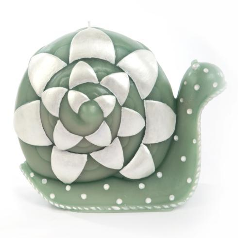MacKenzie-Childs Glow Novelty & Scented Candles Snail Candle - Large $58.00