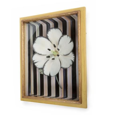 $145.00 Tulip Shadow Box - White
