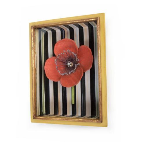 MacKenzie-Childs  Decor Poppy Shadow Box $135.00
