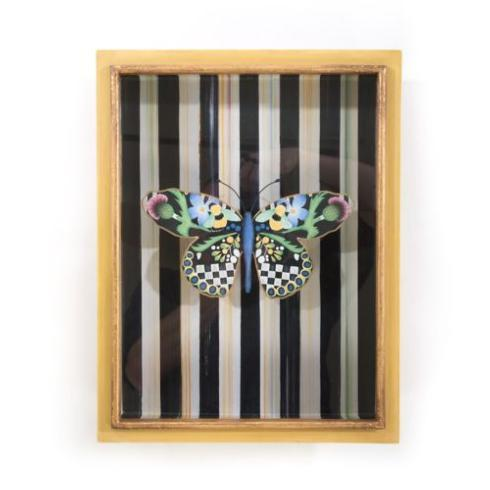 $158.00 Butterfly Shadow Box