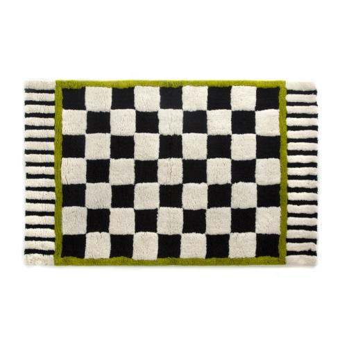 MacKenzie-Childs  Courtly Check Bath Rug - Large $125.00