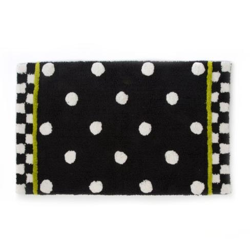 $80.00 Dotty Bath Rug