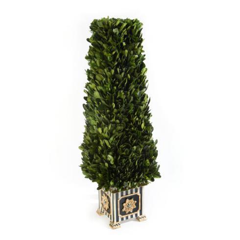 $175.00 Boxwood Obelisk - Small