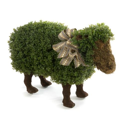 $495.00 Wooly Lamb Topiary