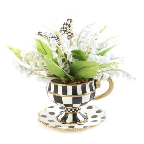 $68.00 Lily Of The Valley Demitasse