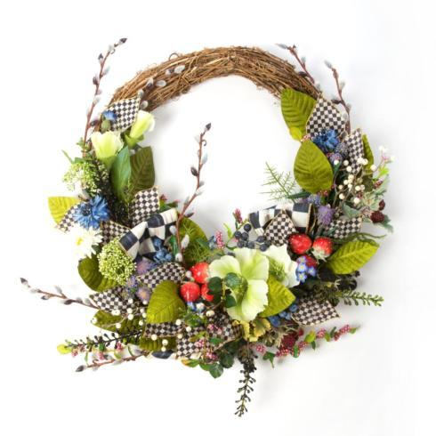 Berries & Blossoms Wreath image