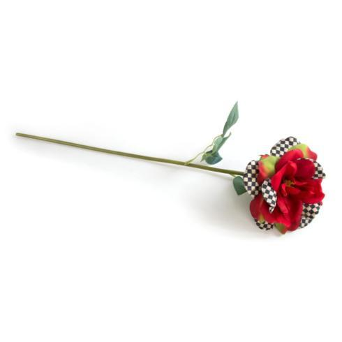 $15.00 Courtly Check Rose - Red