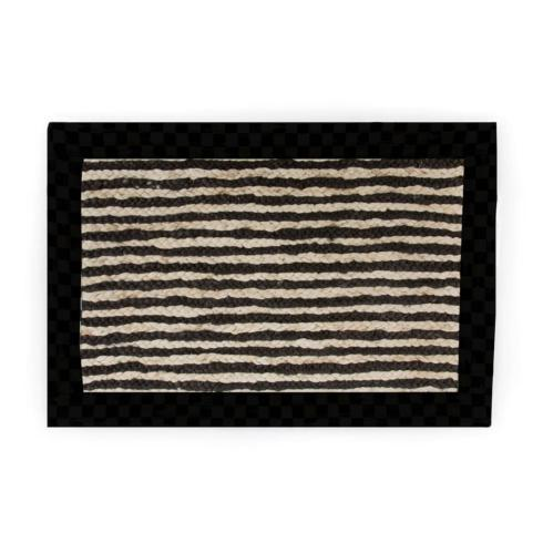 Black Braided Stripe Jute collection with 3 products