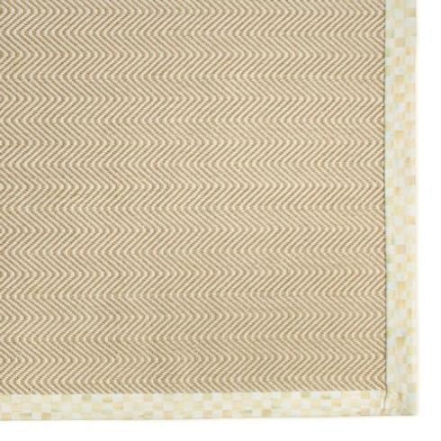 $750.00 Chevron Wool/Sisal Rug - 8 ft x 10 ft