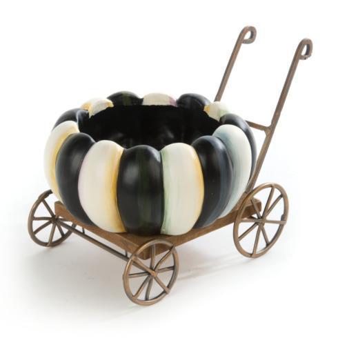 $75.00 Spookarella Pumpkin Cart - Small
