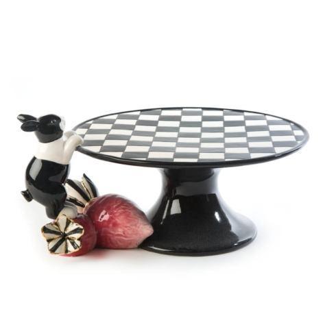 $125.00 Rabbit Pedestal Platter