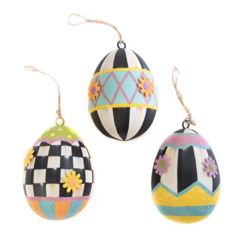 $58.00 Eggstra Special Ornaments - Set of 3