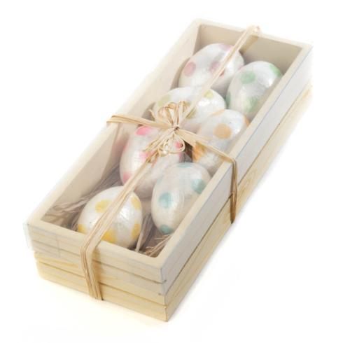 MacKenzie-Childs  Decor Jelly Bean Egg Ornaments - Set of 7 $42.00