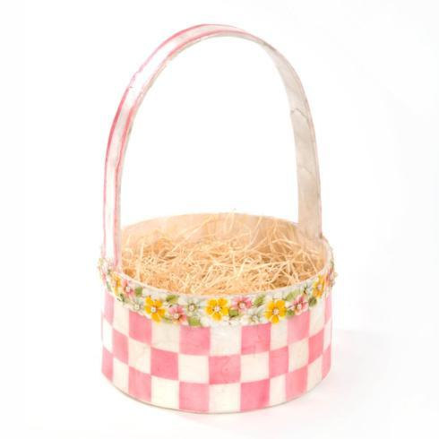 $88.00 Tisket Tasket Basket - Pink
