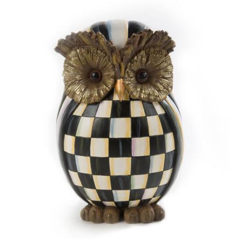 Courtly Check Owl image