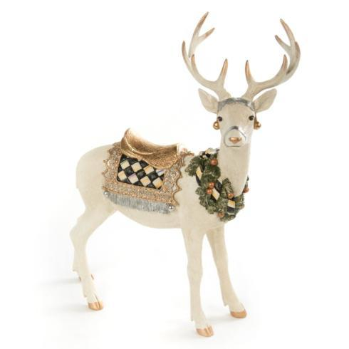 $78.00 Winter White Stag - Standing