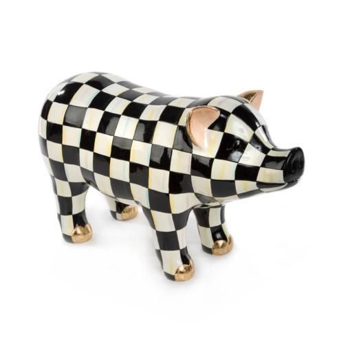 MacKenzie-Childs  Figurines Pig Figurine $295.00