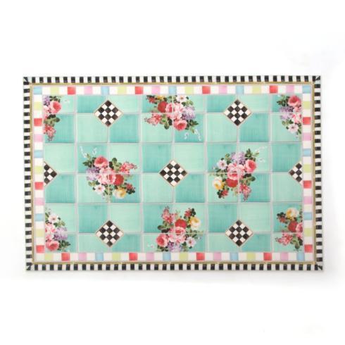 $125.00 Chelsea Garden Floor Mat - 2\' x 3\'