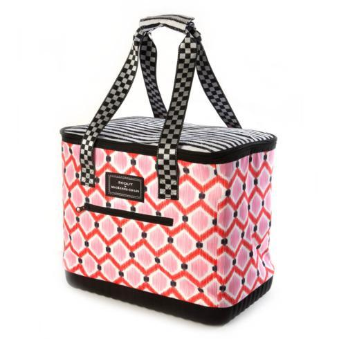 $58.00 The Boat Tote - Ikat Pink