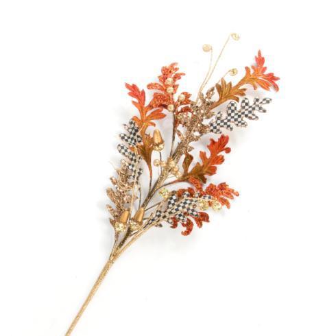 $18.00 Acorn Leaf Stem - Orange