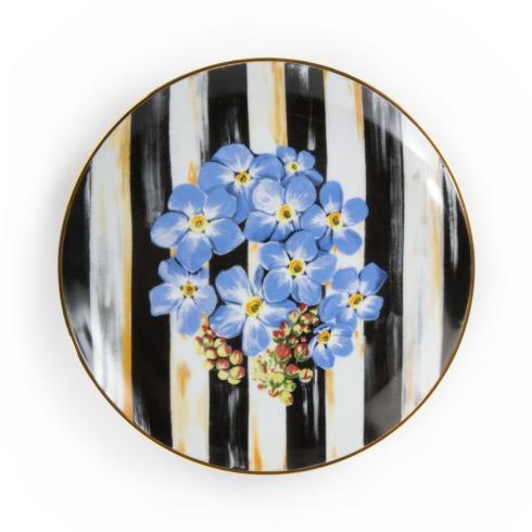 Salad Plate - Forget Me Not